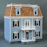 Front-Opening Federal Dollhouse