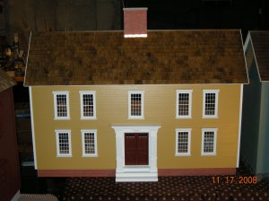 Period Colonial Dollhouse Front