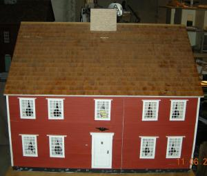 Replica Of Colonial House Front