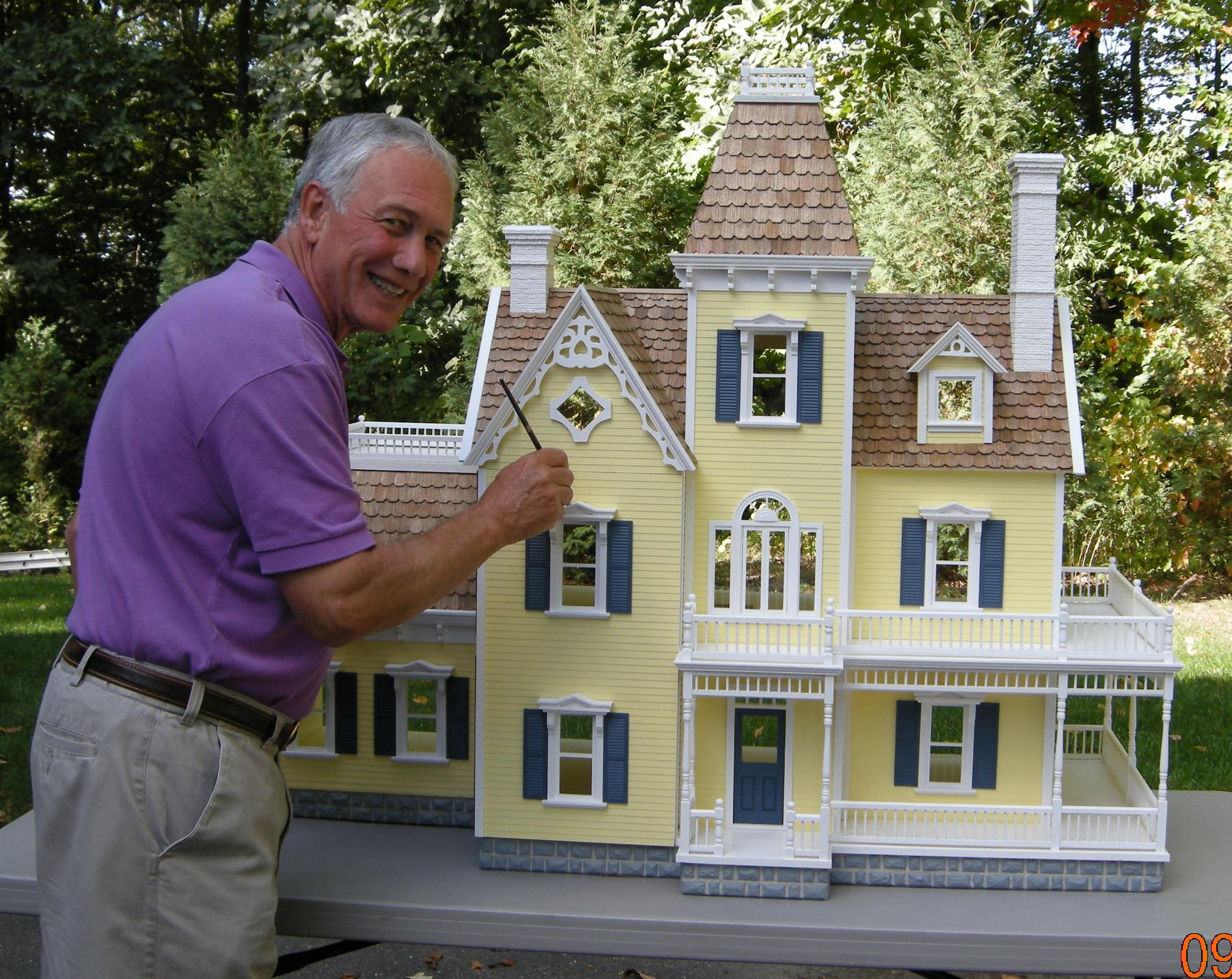Custom Victorian Dollhouse Dollhouse Mansions