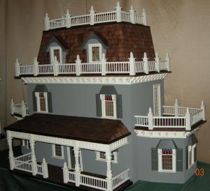 Restored Mission Style Dollhouse