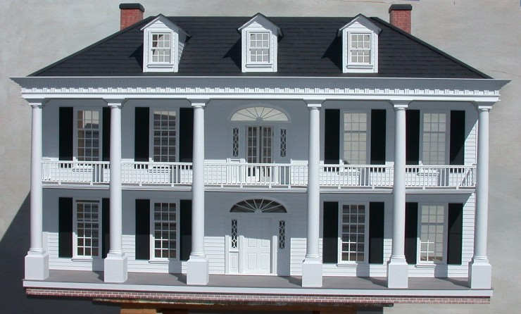 Rosedawn Plantation House Dollhouse Mansions
